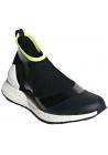 Adidas by Stella McCartney Women's socks sneakers shoes in black tech fabric