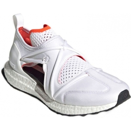 Adidas by Stella McCartney Women's laser cut sneakers shoes white tech fabric