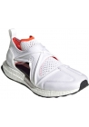 Adidas by Stella McCartney Women's laser cut sneakers shoes white tech fabric