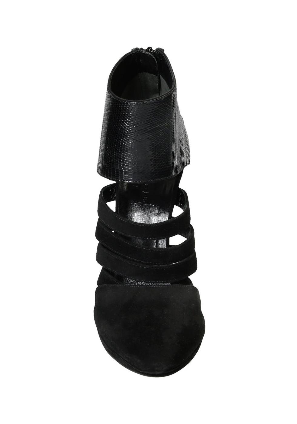 3e8796ee97d9 Balenciaga black suede high stiletto heels booties - Italian Boutique