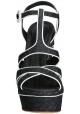 Gianvito Rossi wedges sandals in Denim Fabric
