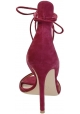Gianvito Rossi high heel sandals in Fuchsia suede leather