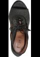 Alaïa heeled booties open toe in black Fabric