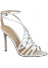 Gianvito Rossi high heel sandals in white Calf leather