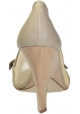 Stella McCartney open toe pumps in beige Faux leather
