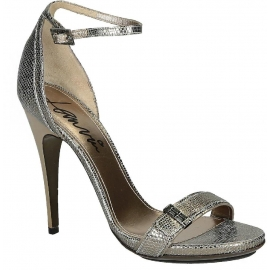Lanvin high heel sandals in metallic Calf leather