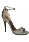 Lanvin high heel sandals in metallic Calf leather