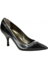Lanvin mid-heels pumps in black Calf leather