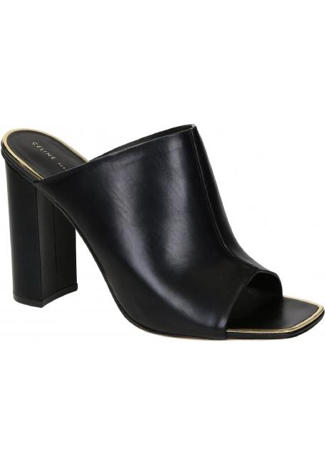 Céline Leather Slide Sandals outlet get authentic buy cheap Cheapest JCndP4