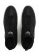 Hogan Rebel women's slip-ons sneakers black leather
