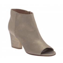 Maison Margiela heels ankle boots in Champagne Leather