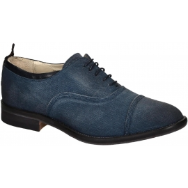 Smith's American women's oxfords lace-up in denim