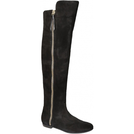 b2628327fc9 Giuseppe Zanotti thigh high boots in black Suede leather - Italian Boutique