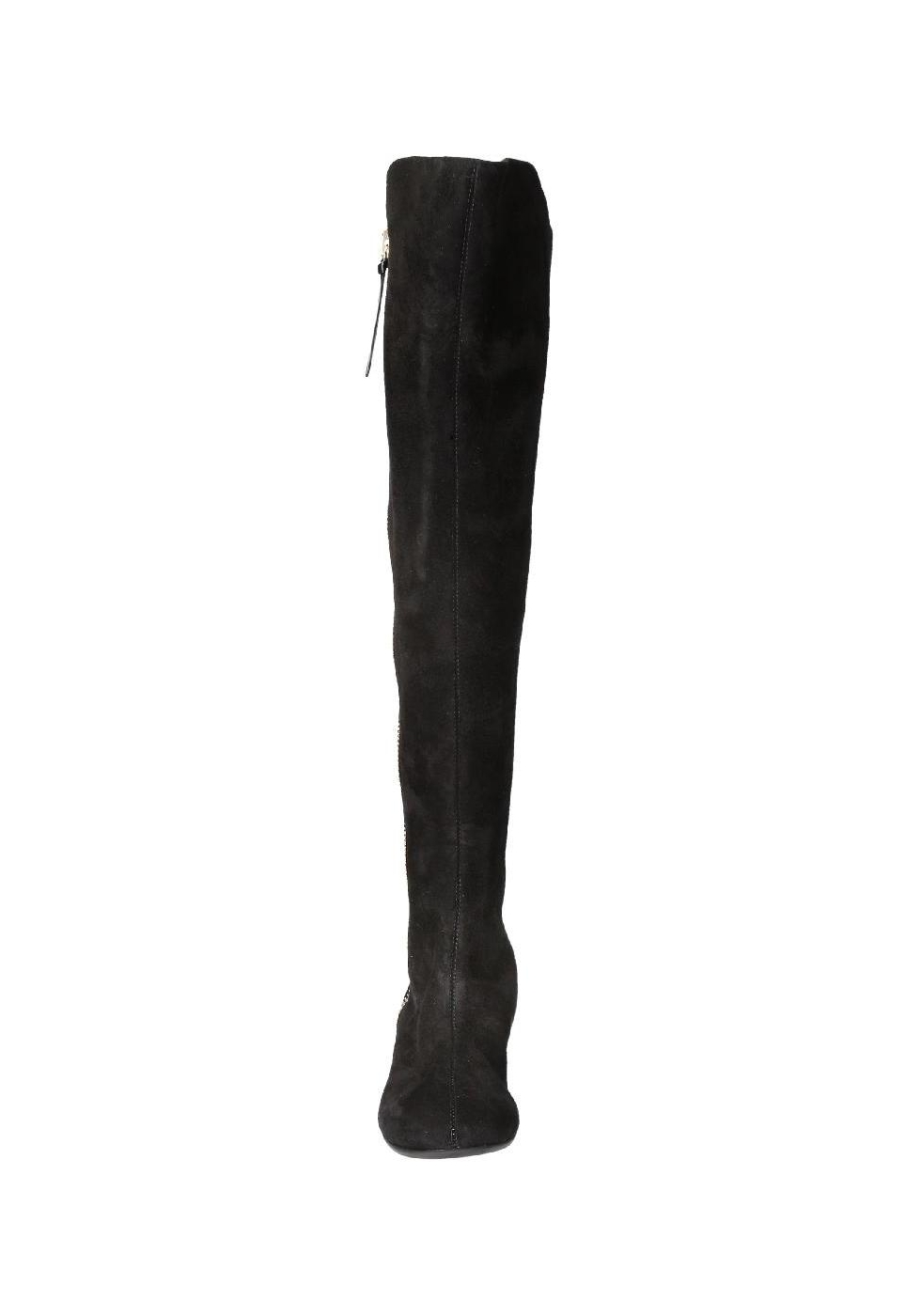Giuseppe Zanotti thigh high boots in black Suede leather - Italian ... 30b935a882