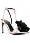 Lanvin high heel sandals in Powder Patent Leather