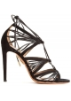 Aquazzura high heel sandals in black Suede leather