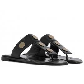 Pierre Hardy women's slippers in black Leather