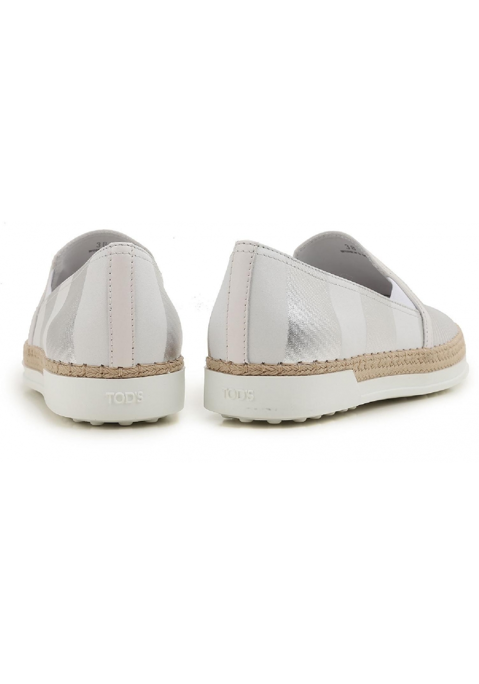 newest 16508 56b70 tods-womens-slip-ons-sneakers-in-silver-laminated-leather.jpg