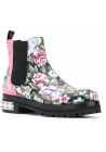 Alexander McQueen ankle boots in florel pattern Leather
