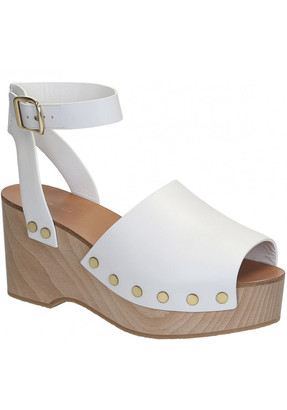 4b3a1bf2a8e Céline wedges clogs sandals in white Calf leather