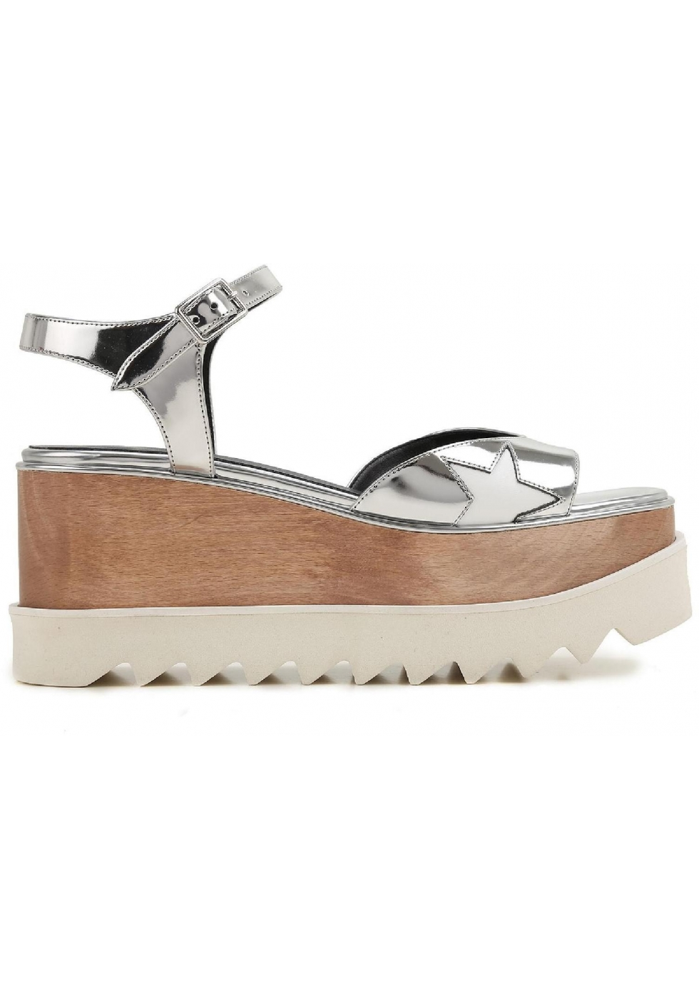 Stella McCartney Vegan Wedge Sandals outlet reliable outlet pictures cheap sale lowest price elfzXqYB0b