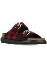 Isabel Marant slippers in red/black Fabric
