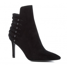 Kendall+Kylie stiletto heels ankle boots black Suede