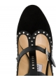 Jimmy Choo high heels sandals in black Suede leather