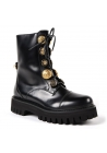 Dolce&Gabbana women's boots in black calf leather