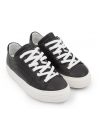 Pierre Hardy women's sneakers in black Calf leather