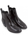 Pierre Hardy women's ankle boots in black patent leather