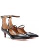 Aquazzura heels pumps in black calf leather