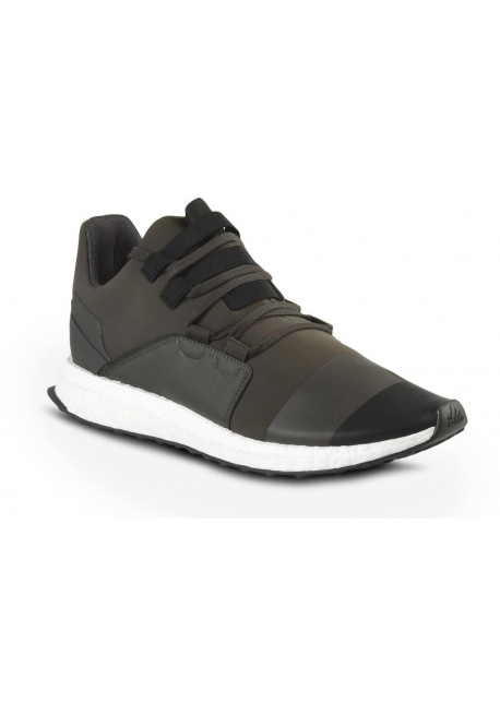 Y-3 men's sneakers in khaki tech fabric