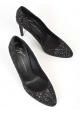 Giuseppe Zanotti stiletto heels pumps in black glitter
