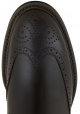 Tod's men's chelsea low boots in dark brown leather