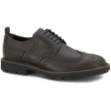 Tod's men's lace-up brogues in dark brown Leather
