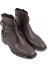 Dolce&Gabbana men's low boots in ebony calf leather
