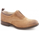 Smith's American women's shoes in tobacco suede leather