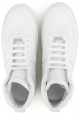 Maison Margiela men's high top sneakers in white Leather