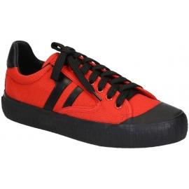 50d5f7c2c51 Céline women s low top sneaker shoes in red canvas