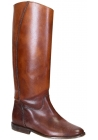 Golden Goose Japan knee high boots in tan calf leather