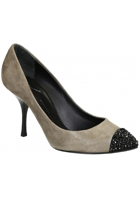 6ac172ba8d Giuseppe Zanotti pumps heels in taupe suede leather - Italian Boutique
