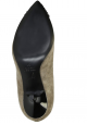 Giuseppe Zanotti pumps heels in taupe suede leather