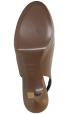 Saint Laurent slingbacks in light brown calf leather