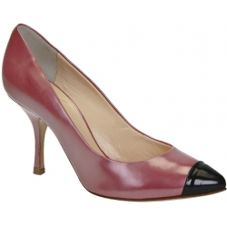 Giuseppe Zanotti pumps heels in rasberry patent leather