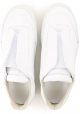 Martin Margiela men's white leather future sneakers
