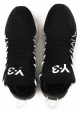 Y3 men's low top Kusari black sneakers shoes