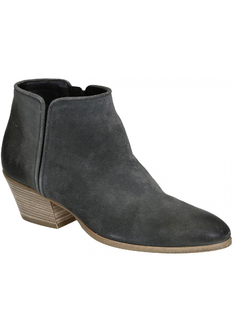 9cf9619314 Giuseppe Zanotti women's ankle boots in gray suede leather - Italian ...