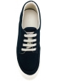 Hogan men's low top sneakers shoes in blue babric