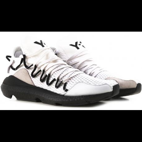 6e3278dc3 Y3 men s low top Kusari white sneakers shoes - Italian Boutique